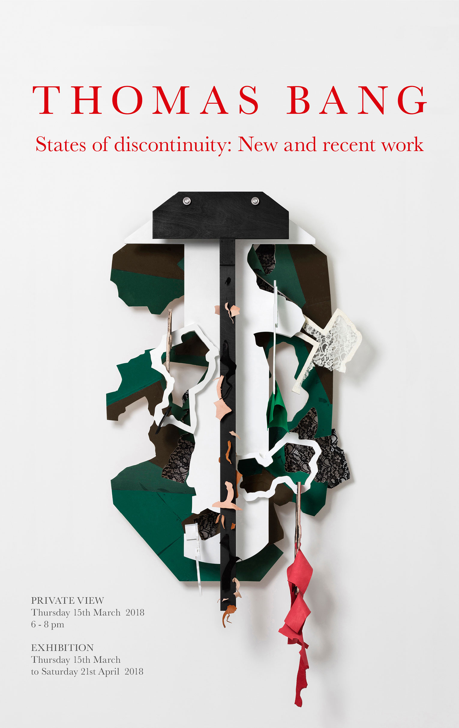 States of discontinuity: New and recent work