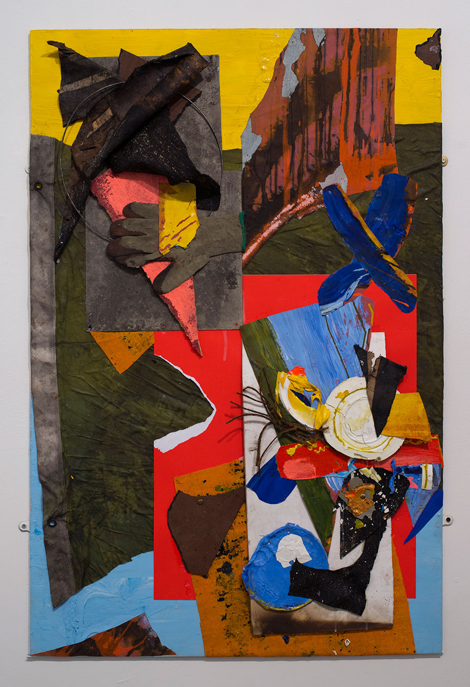 <b>Title:&nbsp;</b>7 Tons of Twilight<br /><b>Year:&nbsp;</b>2014<br /><b>Medium:&nbsp;</b>Mixed media collage<br /><b>Size:&nbsp;</b>150 x 100 cm