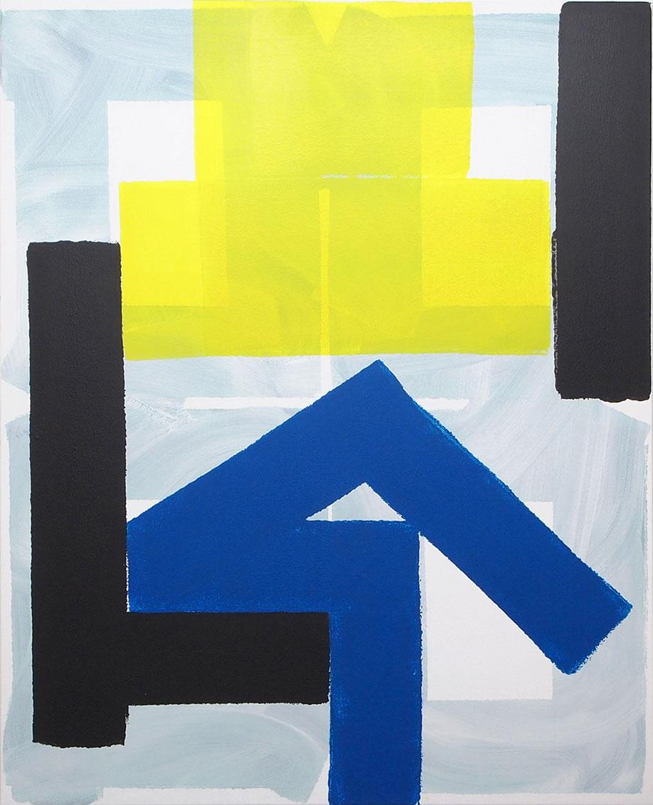 <b>Title:</b>The Gardener (PC1)<br /><b>Year:</b>2014<br /><b>Medium:</b>Acrylic on canvas<br /><b>Size:</b>160 x 130 cm