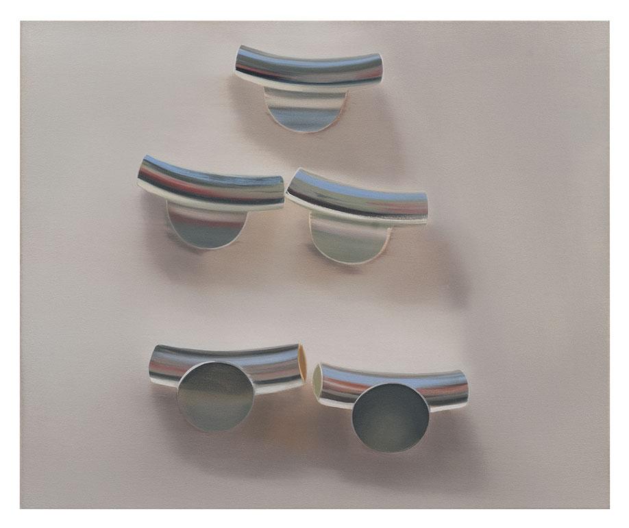 <b>Title:&nbsp;</b>Findings<br /><b>Year:&nbsp;</b>2013<br /><b>Medium:&nbsp;</b>Oil on canvas<br /><b>Size:&nbsp;</b>42 x 51 cm