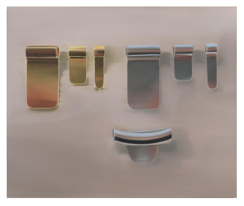 <b>Title:&nbsp;</b>Silver and Gold<br /><b>Year:&nbsp;</b>2013<br /><b>Medium:&nbsp;</b>Oil on canvas<br /><b>Size:&nbsp;</b>42 x 51 cm