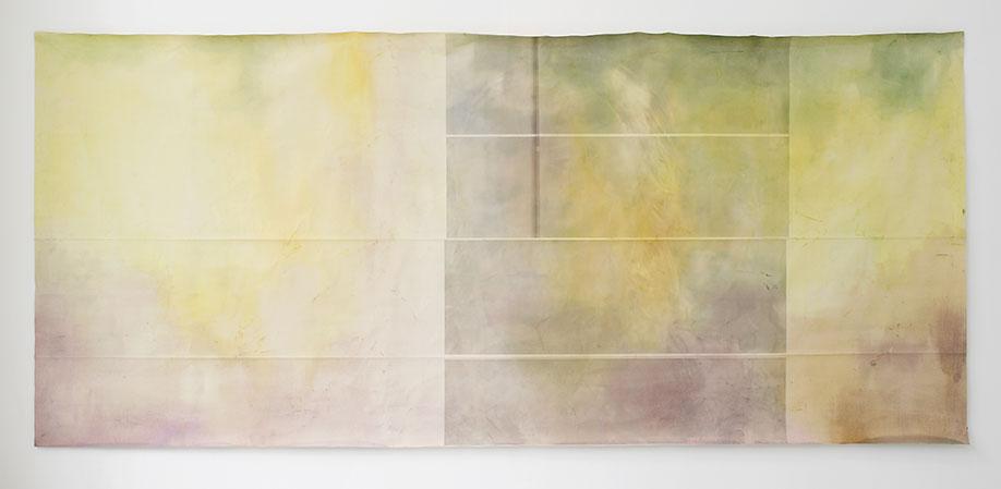<b>Title:&nbsp;</b>Project Flashlight<br /><b>Year:&nbsp;</b>2012<br /><b>Medium:&nbsp;</b>Mixed media on canvas<br /><b>Size:&nbsp;</b>180 x 390 cm