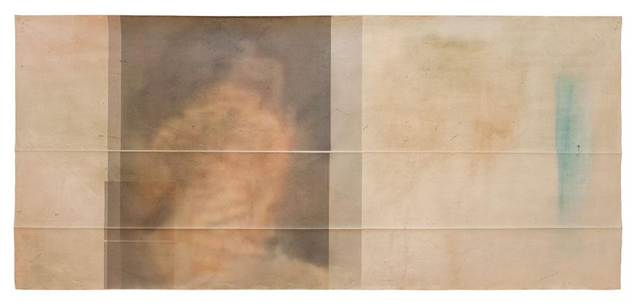 <b>Title:&nbsp;</b>The Mineral II<br /><b>Year:&nbsp;</b>2012<br /><b>Medium:&nbsp;</b>Mixed media on canvas<br /><b>Size:&nbsp;</b>180 x 390 cm