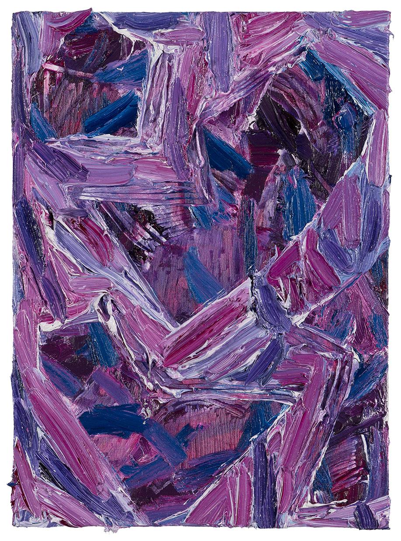 <b>Title:&nbsp;</b>Grip<br /><b>Year:&nbsp;</b>2013<br /><b>Medium:&nbsp;</b>Oil and spray paint on canvas<br /><b>Size:&nbsp;</b>56 x 40 cm