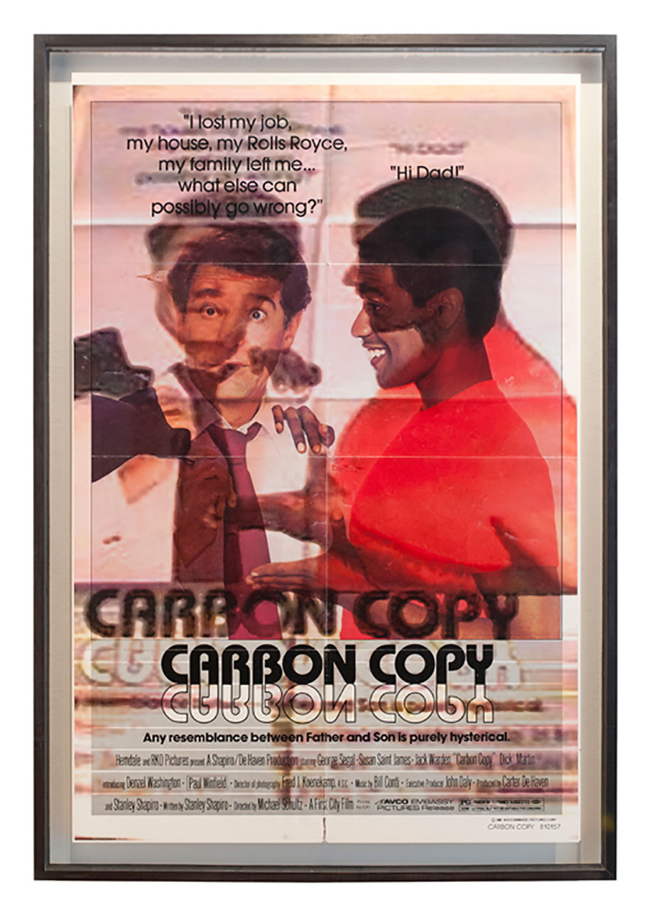 <b>Title:&nbsp;</b>Original Carbon Copies<br /><b>Year:&nbsp;</b>2012<br /><b>Medium:&nbsp;</b>Framed posters<br /><b>Size:&nbsp;</b>114.5 x 78.5 cm
