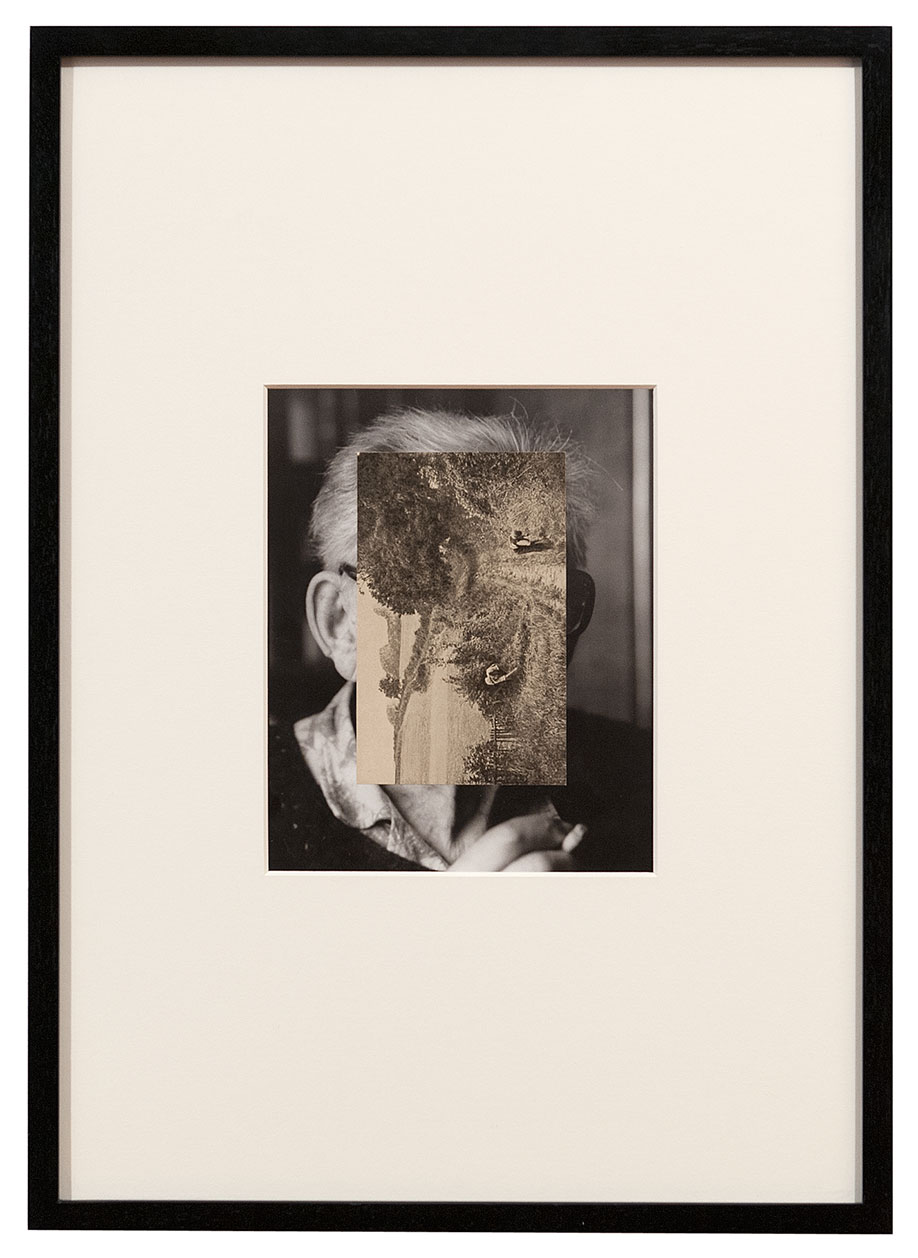 <b>Title:&nbsp;</b>Old Mask I<br /><b>Year:&nbsp;</b>2006<br /><b>Medium:&nbsp;</b>Collage<br /><b>Size:&nbsp;</b>44.3 x 61.5 cm