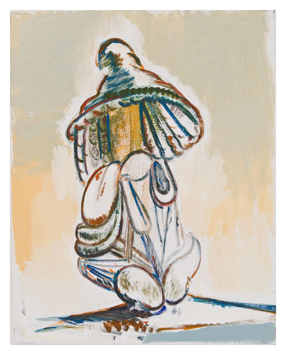 <b>Title:&nbsp;</b>Untitled<br /><b>Year:&nbsp;</b>2012<br /><b>Medium:&nbsp;</b>Oil on canvas<br /><b>Size:&nbsp;</b>45.6 x 35.5 cm