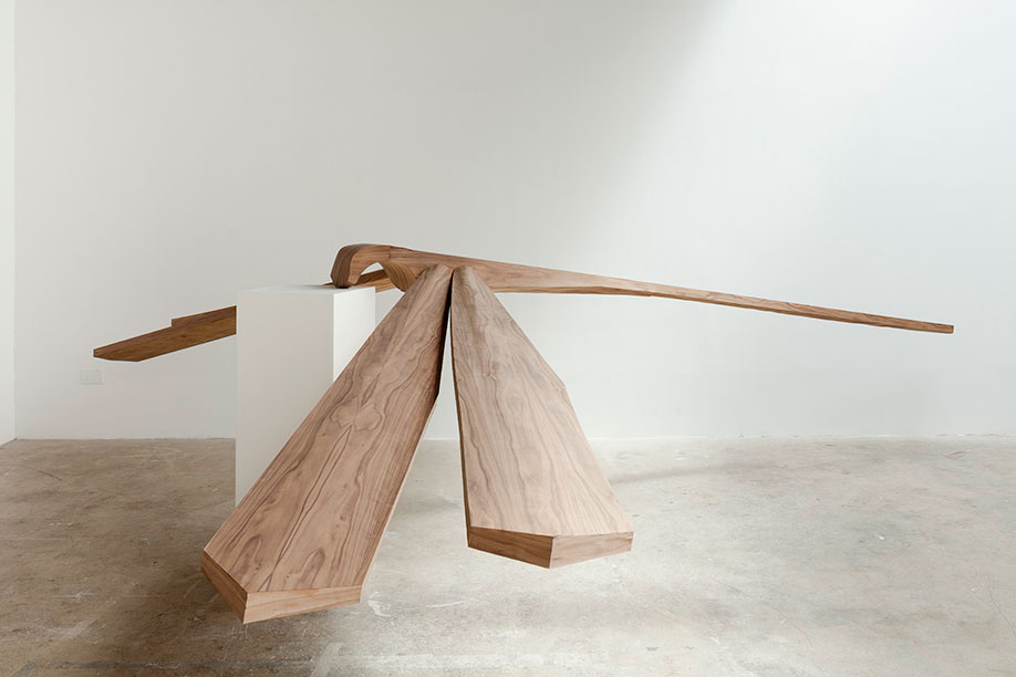 <b>Title:&nbsp;</b>House of Nguyen<br /><b>Year:&nbsp;</b>2012<br /><b>Medium:&nbsp;</b>Walnut, cherry, white ash veneers<br /><b>Size:&nbsp;</b>Dimensions variable, Photo courtesy of the artist and Limoncello Gallery