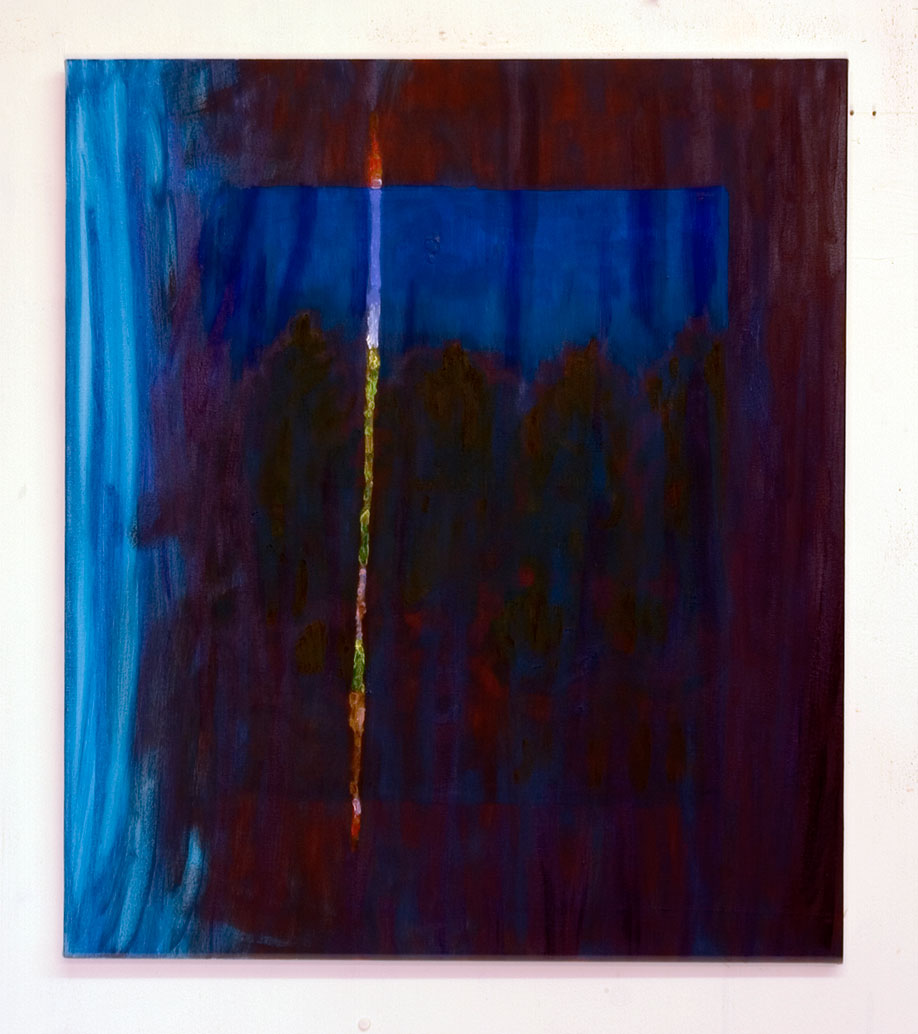 <b>Title:&nbsp;</b>Blue Curtain<br /><b>Year:&nbsp;</b>2010<br /><b>Medium:&nbsp;</b>Oil on canvas<br /><b>Size:&nbsp;</b>75 x 65 cm