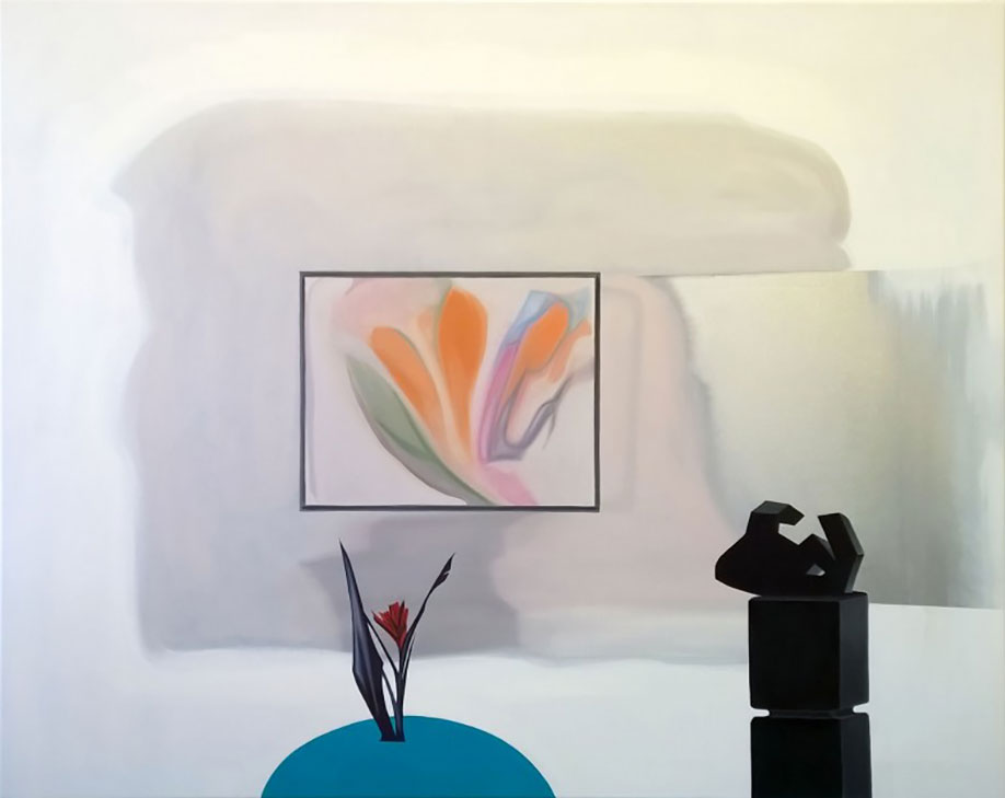 <b>Title:&nbsp;</b>The White Room<br /><b>Year:&nbsp;</b>2015<br /><b>Medium:&nbsp;</b>Oil on canvas<br /><b>Size:&nbsp;</b>160 x 130 cm