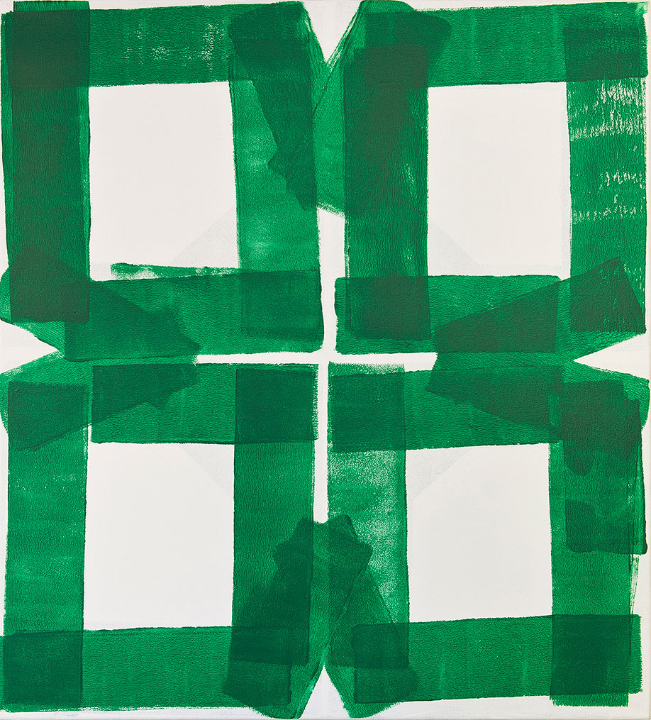 <b>Title:&nbsp;</b>Garden XVI<br /><b>Year:&nbsp;</b>2013<br /><b>Medium:&nbsp;</b>Acrylic on canvas<br /><b>Size:&nbsp;</b>100 x 90 cm