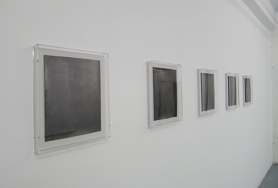 <b>Title:&nbsp;</b>The copy and the original chasing each other in a storm<br /><b>Year:&nbsp;</b>2015<br /><b>Medium:&nbsp;</b>Graphite on paper, plexi box<br /><b>Size:&nbsp;</b>38 x 30.5 x 4 cm each