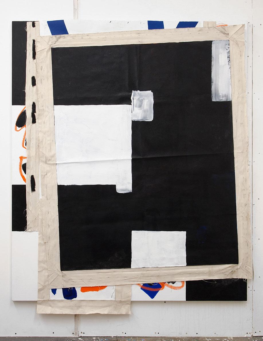 <b>Title:</b>Elephant <br /><b>Year:</b>2016<br /><b>Medium:</b>Oil, oil stick and acrylic on canvas<br /><b>Size:</b>200 x 165 cm