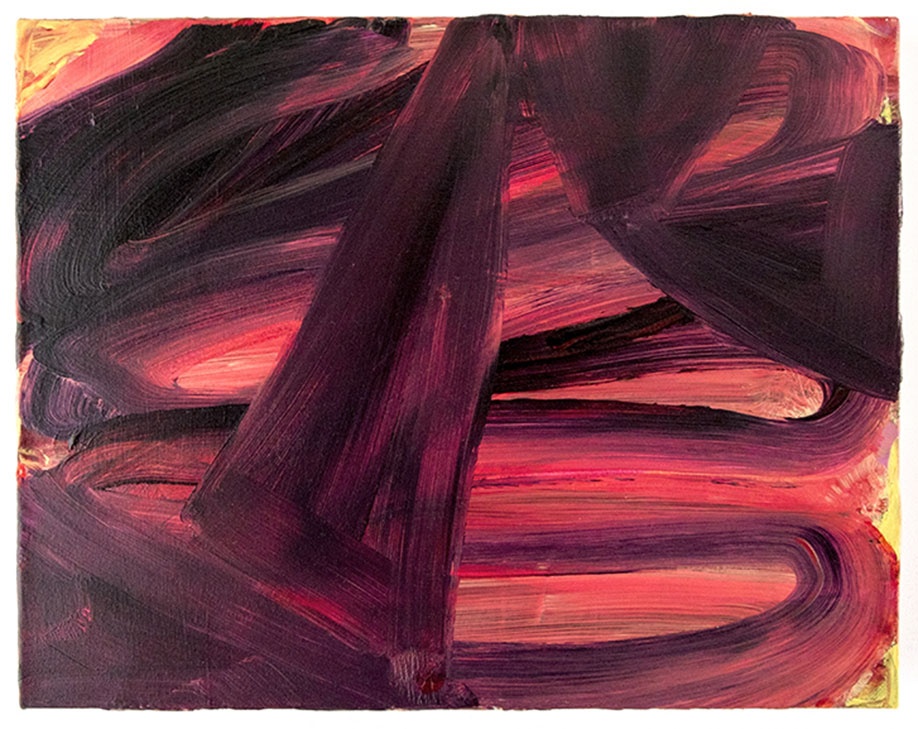 <b>Title:&nbsp;</b>Dark Rose Gold<br /><b>Year:&nbsp;</b>2014<br /><b>Medium:&nbsp;</b>Acrylic on canvas<br /><b>Size:&nbsp;</b>36 x 45 cm
