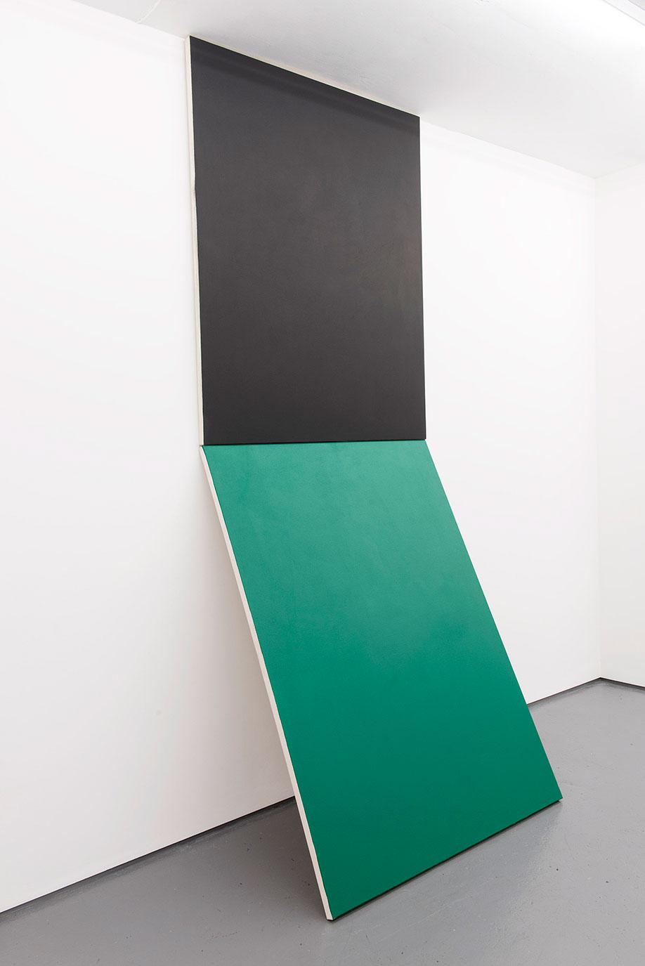 <b>Title:</b>Right This Way<br /><b>Year:</b>2016<br /><b>Medium:</b>Oil and acrylic on canvas<br /><b>Size:</b>300 x 122 cm