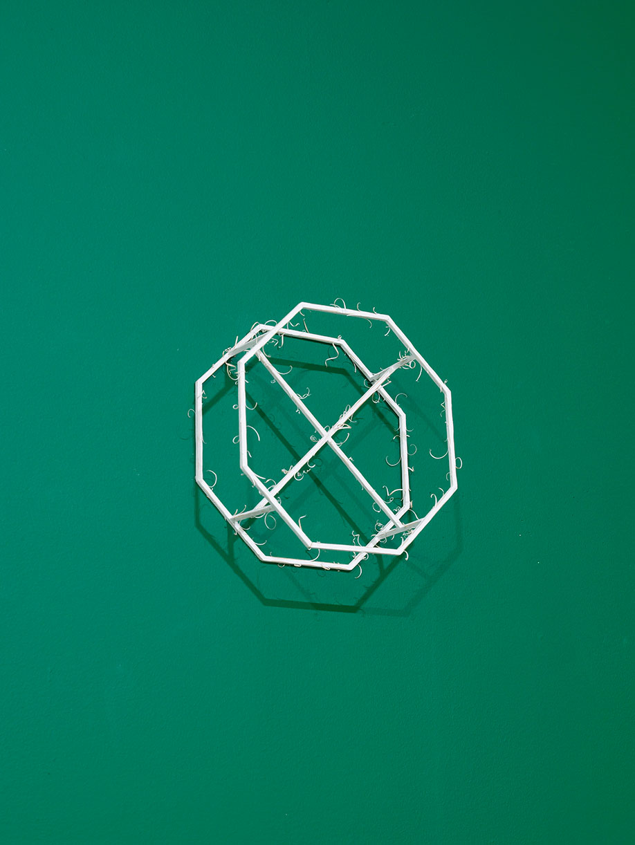 <b>Title:</b>Small Octagon<br /><b>Year:</b>2017<br /><b>Medium:</b>Spruce wood and lime wax<br /><b>Size:</b>16cm x 16cm x 6cm