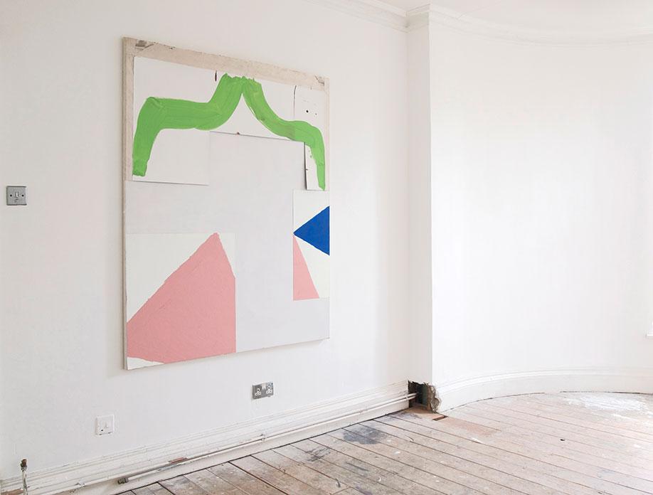 <b>Title:</b>Carousel<br /><b>Year:</b>2017<br /><b>Medium:</b>Acrylic on canvas<br /><b>Size:</b>162 x 130 cm