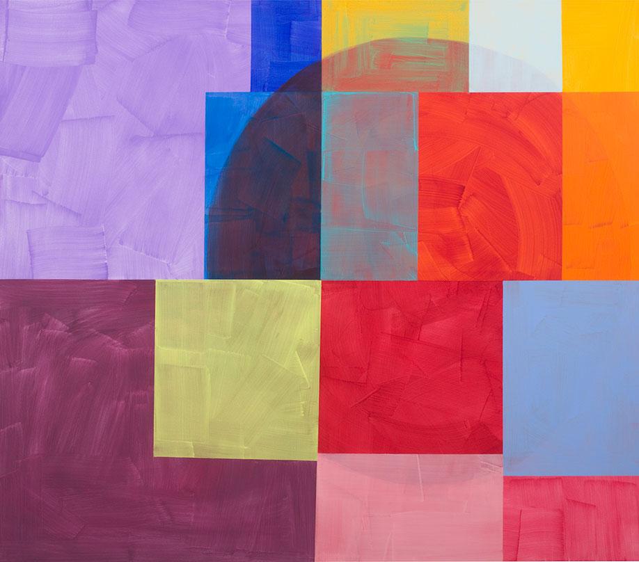 <b>Title:&nbsp;</b>Second Ghost<br /><b>Year:&nbsp;</b>2017<br /><b>Medium:&nbsp;</b>Acrylic on canvas<br /><b>Size:&nbsp;</b>169 x 193 cm