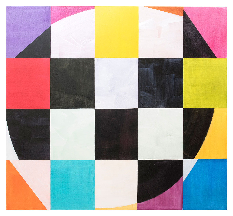 <b>Title:&nbsp;</b>Second Stradella<br /><b>Year:&nbsp;</b>2016<br /><b>Medium:&nbsp;</b>Acrylic on canvas<br /><b>Size:&nbsp;</b>198 x 214 cm