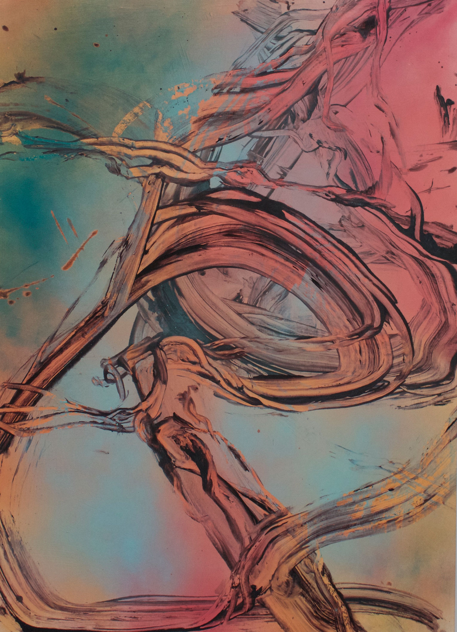 <b>Title:&nbsp;</b>Cloud Rain<br /><b>Year:&nbsp;</b>2018<br /><b>Medium:&nbsp;</b>Acrylic and oil on canvas<br /><b>Size:&nbsp;</b>140 x 100 cm