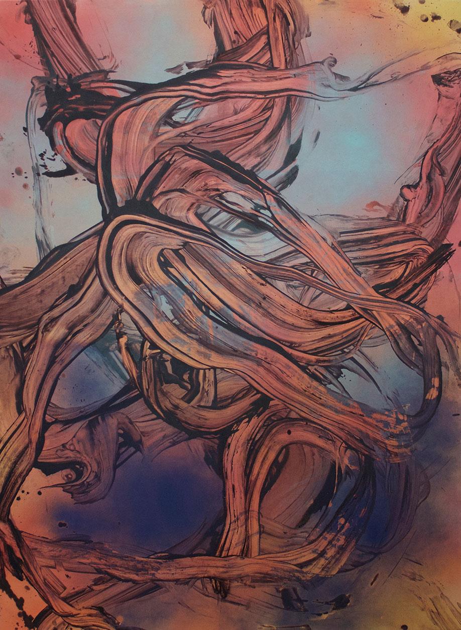 <b>Title:&nbsp;</b>Wind From All Directions<br /><b>Year:&nbsp;</b>2018<br /><b>Medium:&nbsp;</b>Acrylic and oil on canvas<br /><b>Size:&nbsp;</b>180 x 130 cm