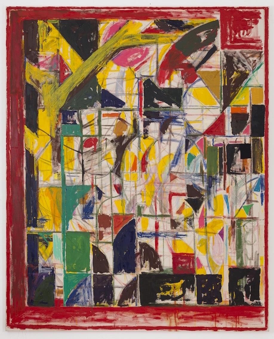<b>Title:</b>Red Window<br /><b>Year:</b>2017<br /><b>Medium:</b>mixed media on canvas<br /><b>Size:</b>210cm x 170cm