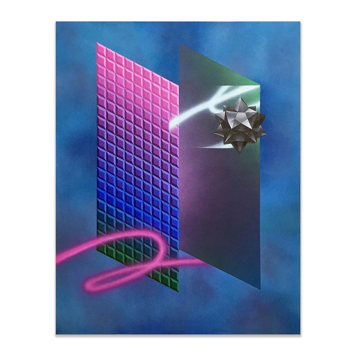 <b>Title:&nbsp;</b>~NMH*NFM~<br /><b>Year:&nbsp;</b>2018<br /><b>Medium:&nbsp;</b>Acrylic on canvas<br /><b>Size:&nbsp;</b>120cm x 150cm