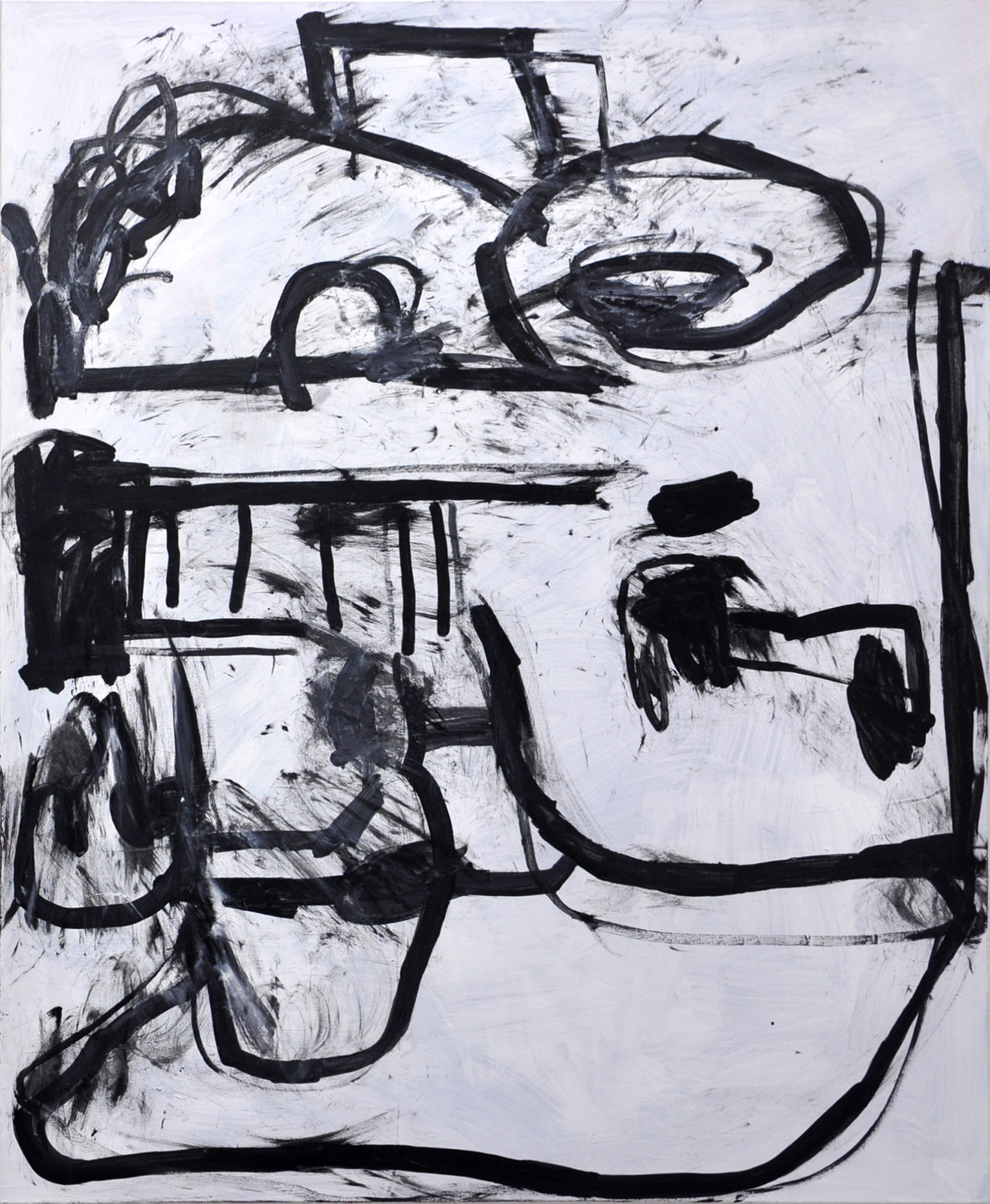 <b>Title:</b>Ok OK<br /><b>Year:</b>2018<br /><b>Medium:</b>Acrylic on canvas<br /><b>Size:</b>160 x 130 cm