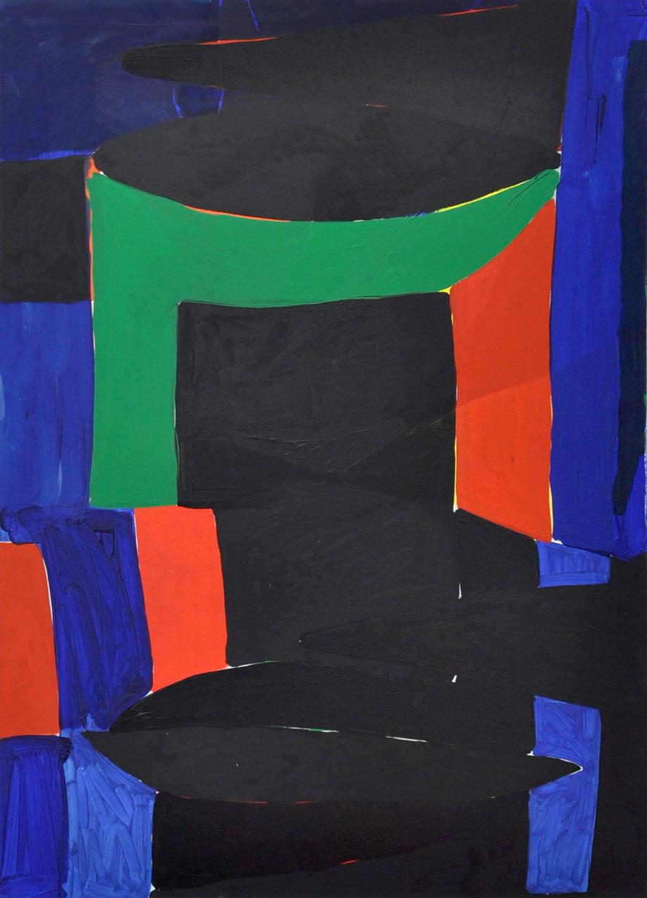 <b>Title:</b>Untitled (doorway)<br /><b>Year:</b>2018<br /><b>Medium:</b>Oil on canvas<br /><b>Size:</b>167 x 122 cm