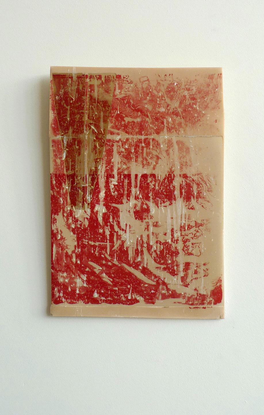 <b>Title:</b>Belt<br /><b>Year:</b>2014<br /><b>Medium:</b>Polyester resin<br /><b>Size:</b>38 x 28 x 3 cm