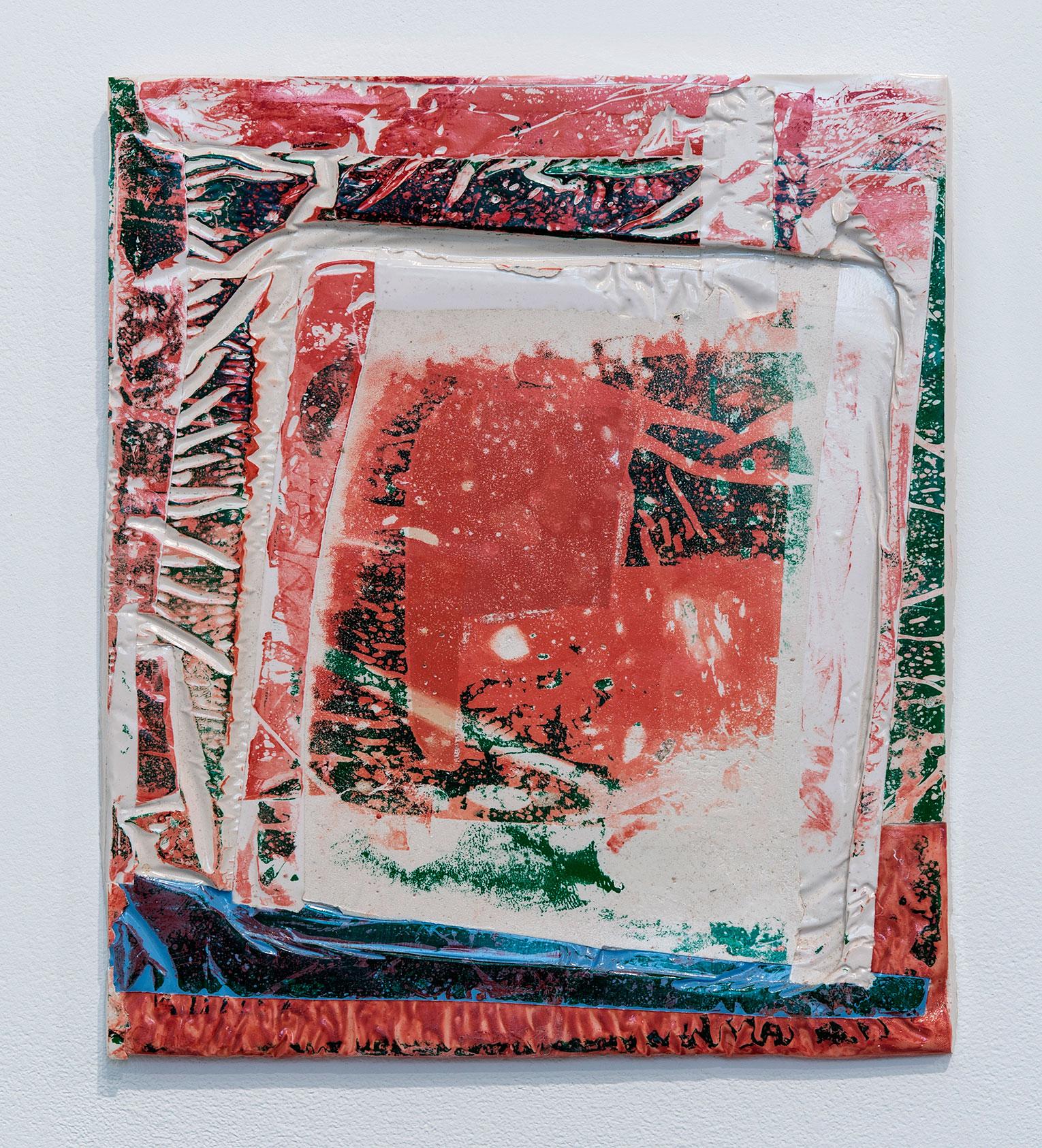 <b>Title:</b>Pad<br /><b>Year:</b>2014<br /><b>Medium:</b>Polyester resin<br /><b>Size:</b>35 x 30 x 2 cm
