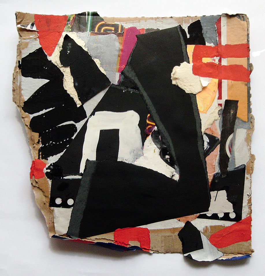 <b>Title: </b>Untitled (Container)<br /><b>Year: </b>2014<br /><b>Medium: </b>Gouache and collage on cardboard<br /><b>Size: </b>28 x 26 cm
