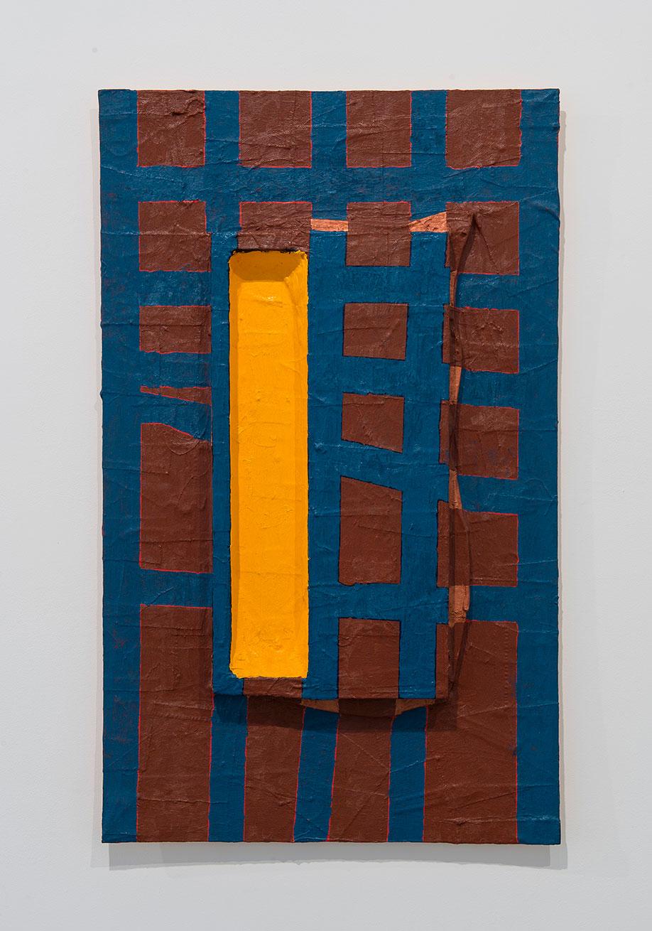 <b>Title:</b>Harp (#12)<br /><b>Year:</b>2005<br /><b>Medium:</b>Oil on canvas on board<br /><b>Size:</b>101 x 61 x 6 cm