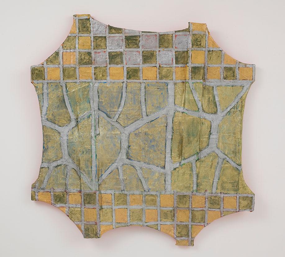 <b>Title:</b>Passos<br /><b>Year:</b>2009<br /><b>Medium:</b>Oil on canvas<br /><b>Size:</b>94 x 94 cm