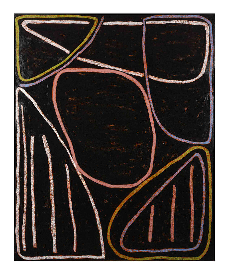 <b>Title:</b>Onmiddan<br /><b>Year:</b>2011<br /><b>Medium:</b>Oil on canvas<br /><b>Size:</b>160 x 130 cm