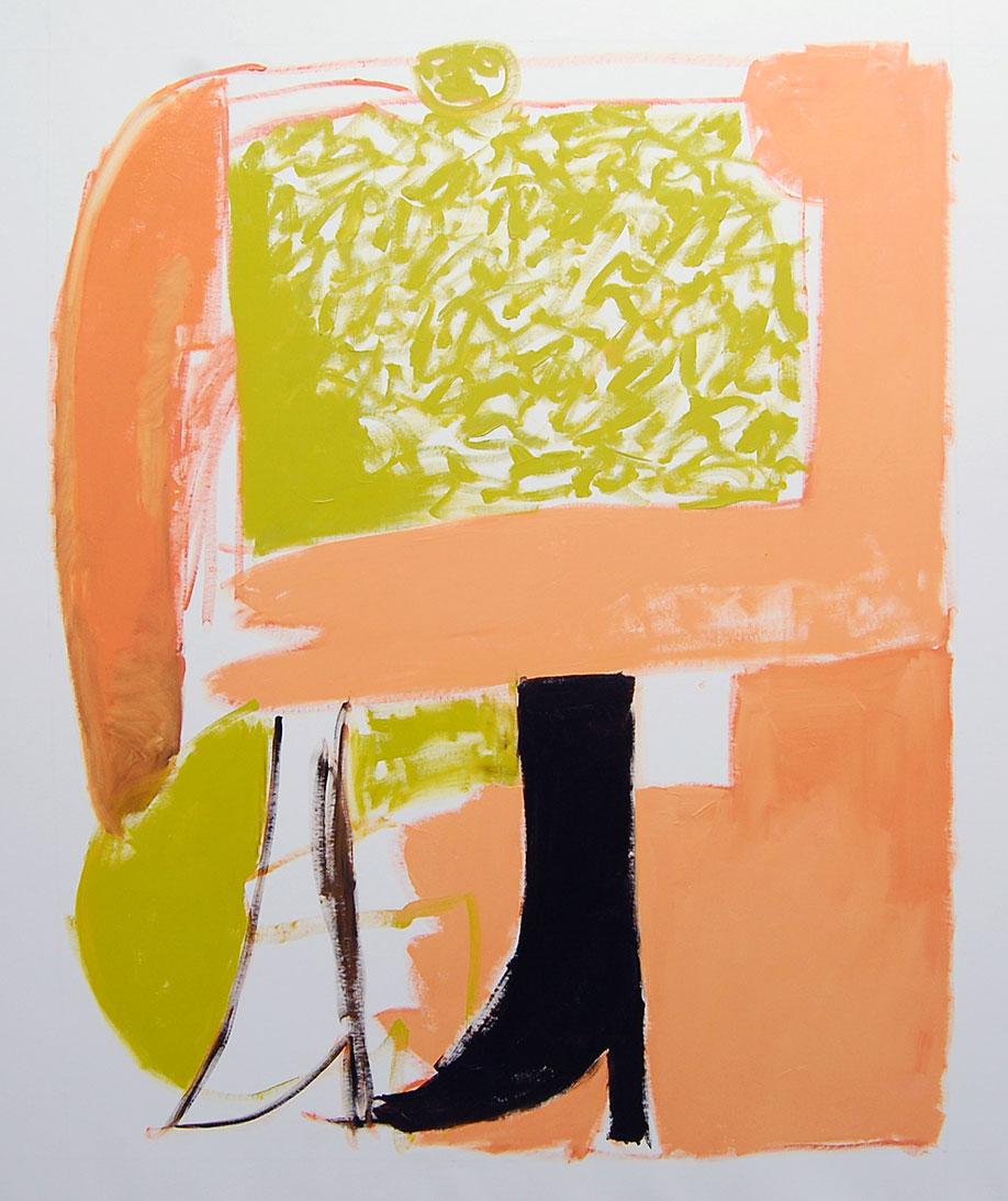 <b>Title:</b>Boot<br /><b>Year:</b>2012<br /><b>Medium:</b>Oil on canvas<br /><b>Size:</b>150 x 120 cm