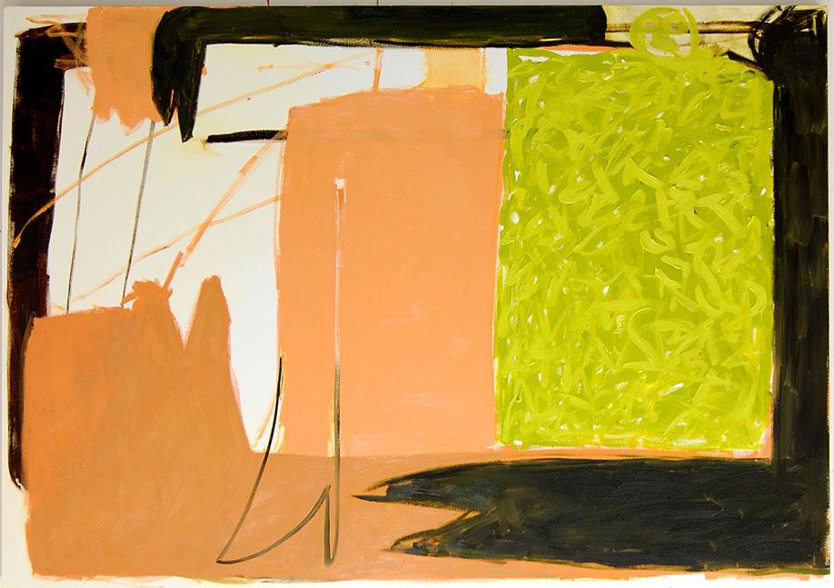 <b>Title:</b>Reclining Figure<br /><b>Year:</b>2013<br /><b>Medium:</b>Oil on canvas<br /><b>Size:</b>185 x 130 cm