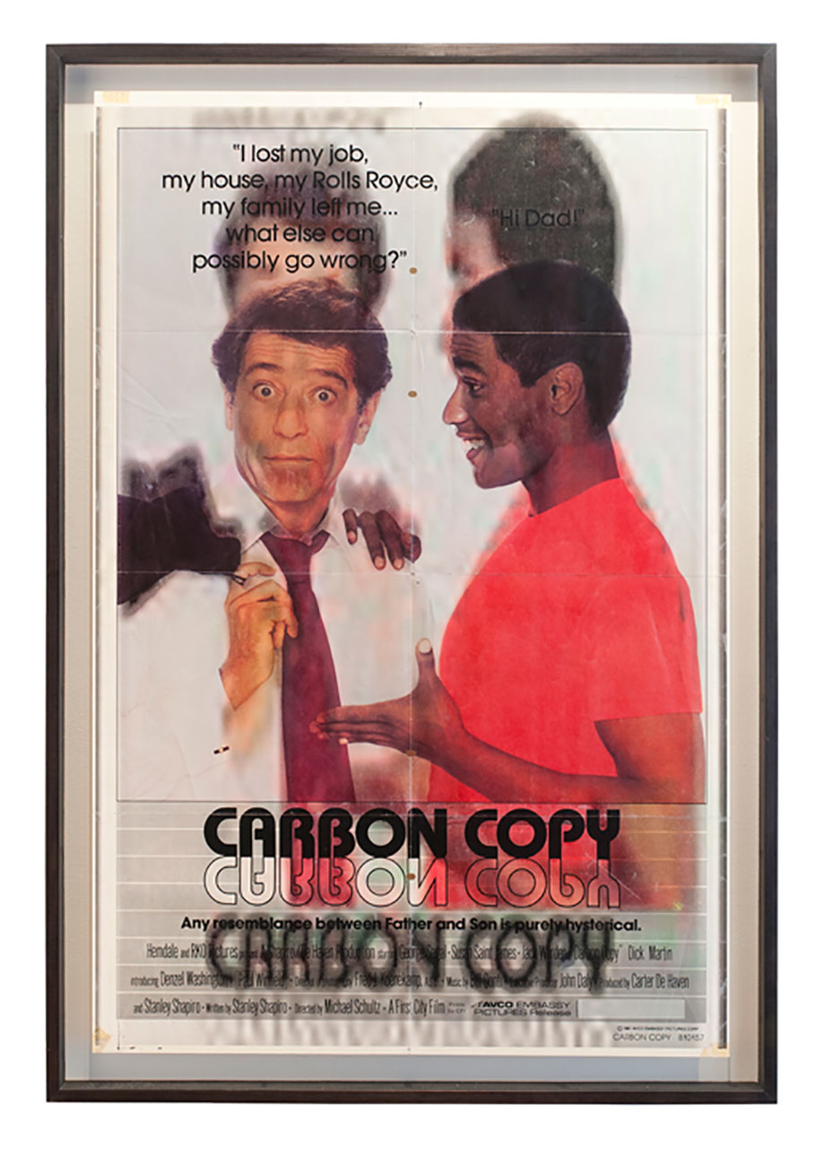 <b>Title: </b>Original Carbon Copies<br /><b>Year: </b>2012<br /><b>Medium: </b>Framed posters<br /><b>Size: </b>114.5 x 78.5 cm