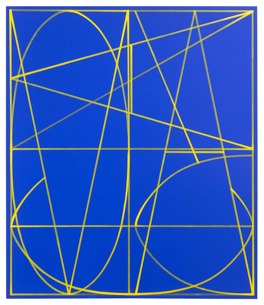<b>Title:</b>Macaronic (It's All Greek To Me)<br /><b>Year:</b>2013<br /><b>Medium:</b>Oil on canvas<br /><b>Size:</b>140 x 120 cm