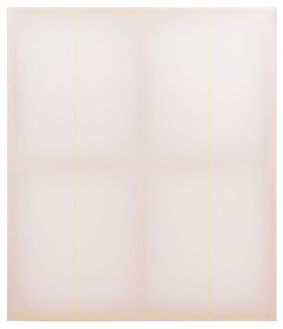<b>Title:</b>Two I's, II Eyes, Aye Aye (Captain)<br /><b>Year:</b>2013<br /><b>Medium:</b>Polyester reinforced PVC on oil on polyester<br /><b>Size:</b>140 x 120 cm