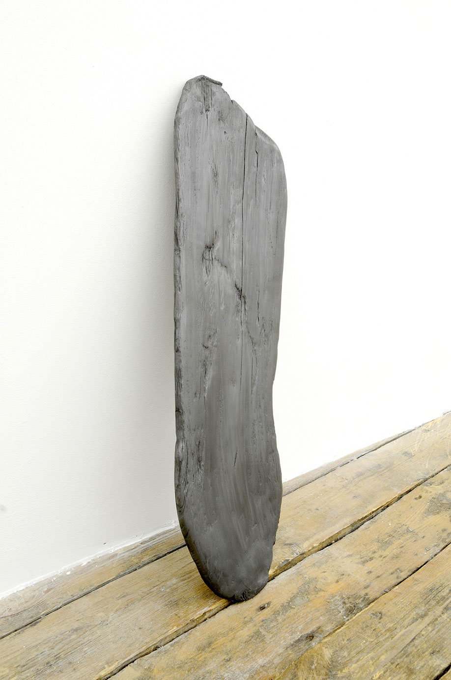 <b>Title: </b>Driftwood<br /><b>Year: </b>2007<br /><b>Medium: </b>Carved graphite<br />