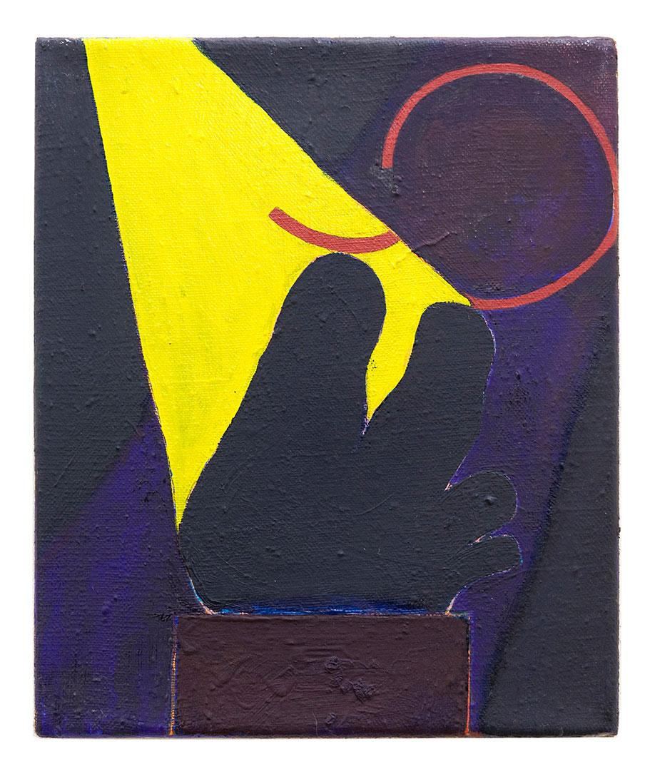<b>Title:</b>Sculpture I<br /><b>Year:</b>2010<br /><b>Medium:</b>Oil on linen<br /><b>Size:</b>30 x 25 cm