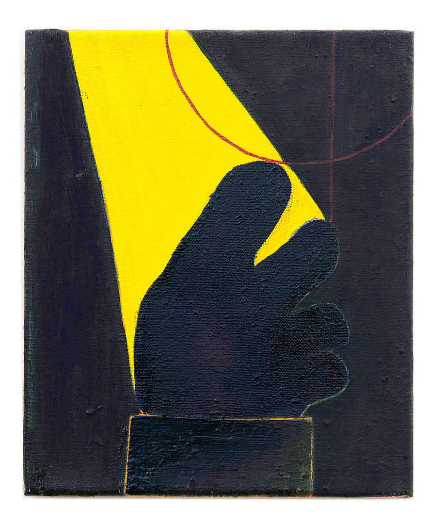 <b>Title:</b>Sculpture III<br /><b>Year:</b>2010<br /><b>Medium:</b>Oil on linen<br /><b>Size:</b>30 x 25 cm