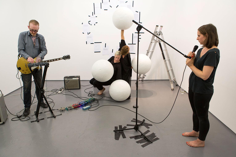 <b>Title:</b>Orbit my OO my<br /><b>Year:</b>2015<br /><b>Medium:</b>Performed by Desmond Byrne, Katye Coe, Rosalie Walhfrid, Florence Peake<br /><b>Size:</b>Dimensions variable