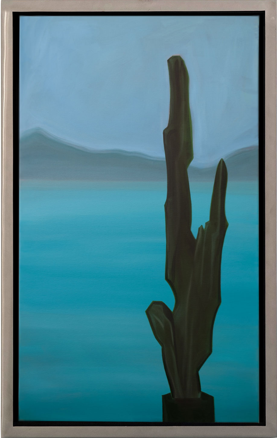 <b>Title: </b>Cactus<br /><b>Year: </b>2015<br /><b>Medium: </b>Oil on canvas<br /><b>Size: </b>98 x 63 cm