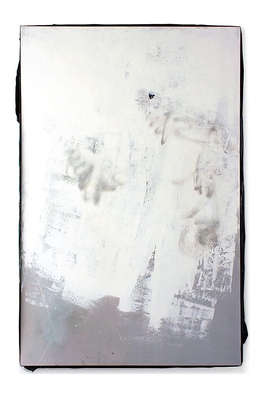 <b>Title:</b>140803<br /><b>Year:</b>2014<br /><b>Medium:</b>Acrylic, lacquer, spray paint, and PE film on canvas<br /><b>Size:</b>240 x 160 cm