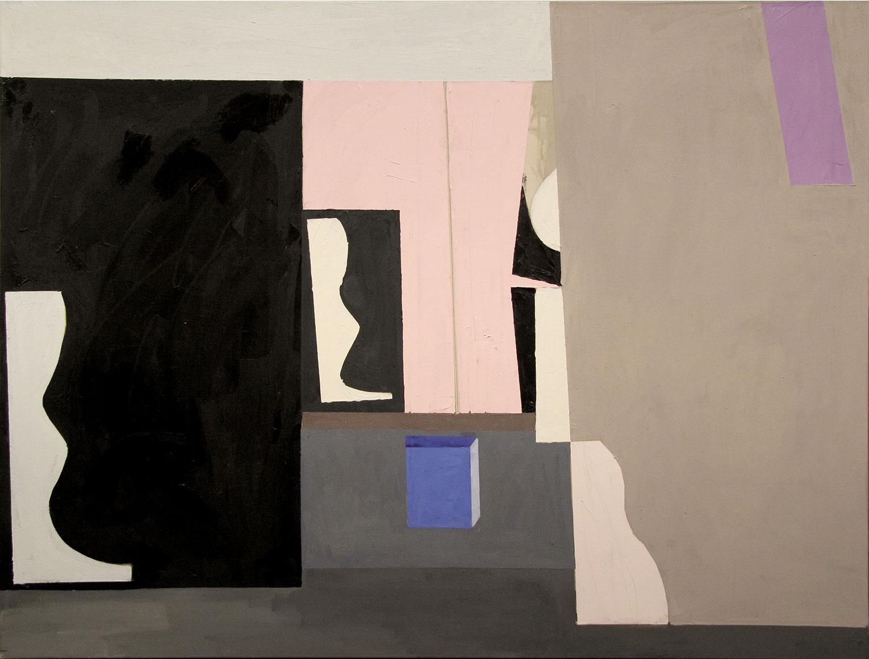 <b>Title:</b>Untitled<br /><b>Year:</b>2013<br /><b>Medium:</b>Oil, acrylic, and pencil on canvas<br /><b>Size:</b>100 x 132 cm
