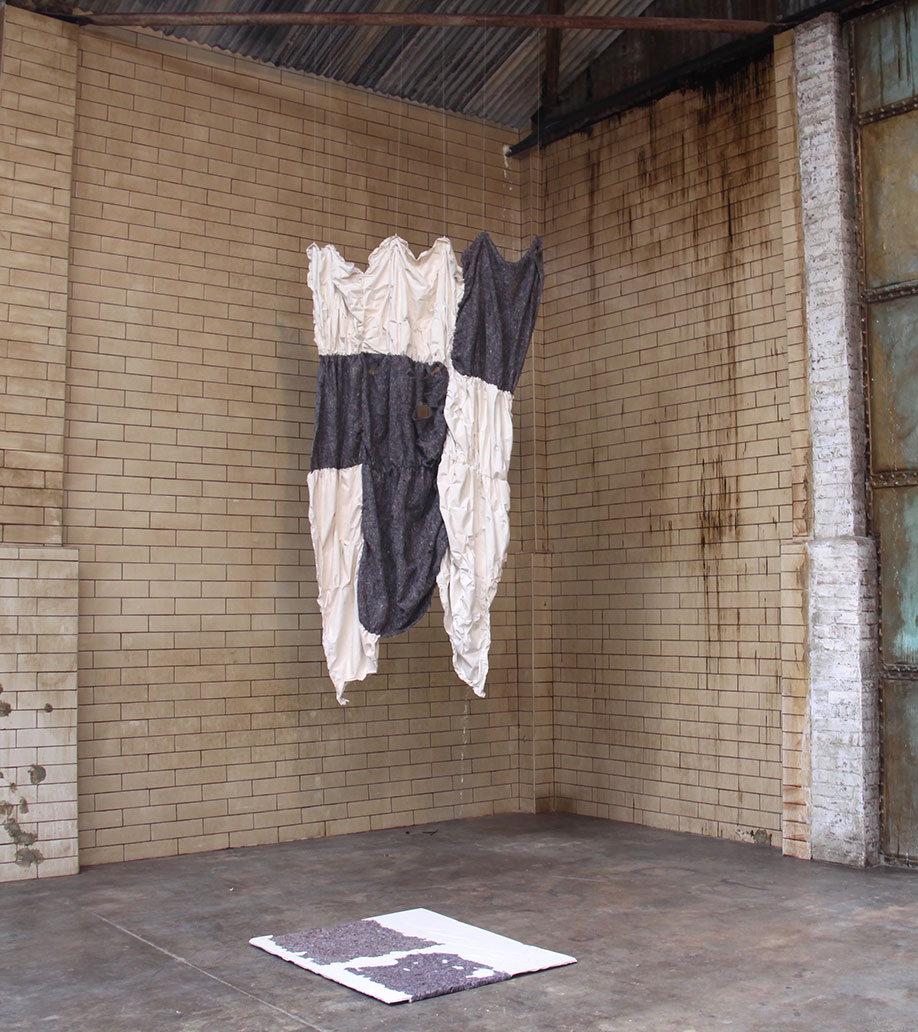 <b>Title: </b>'Fragments of', The Blue Factory, installation view<br /><b>Year: </b>2015<br />