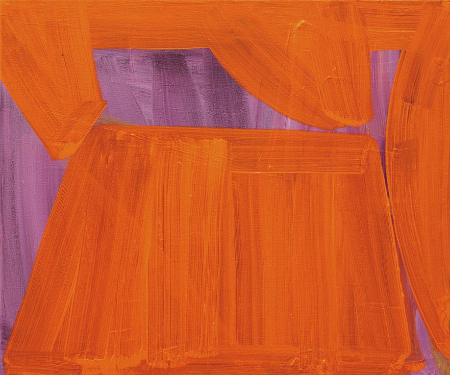 <b>Title:</b>Cinnabar<br /><b>Year:</b>2015<br /><b>Medium:</b>Acrylic on canvas<br /><b>Size:</b>50 x 60 cm