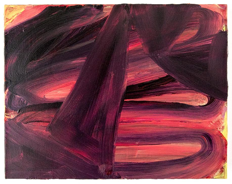 <b>Title:</b>Dark Rose Gold<br /><b>Year:</b>2014<br /><b>Medium:</b>Acrylic on canvas<br /><b>Size:</b>36 x 45 cm